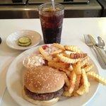 The Burger Platter