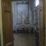 Solarium with original frescoes