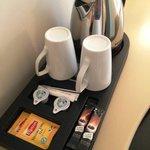 ホテルはコーヒー・紅茶が用意されています