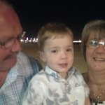 Luca's 3rd Birthday with Nanna and Grandad