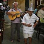 Live-Musik an der Tapas-Bar