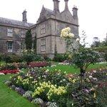 Gardens in the back of Muckross House
