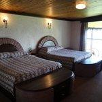 The bedroom of room 40
