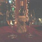 Pinot Grigio on the patio