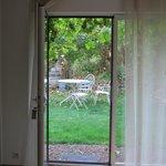 vue sur le jardin privatif
