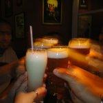 Cervezas y licuado