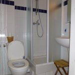 Tight squeeze in this bathroom !