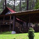 :: cabaña 100% de madera y muchas áreas verdes ::