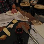 Cheese plate with La Trappe Bockbeer
