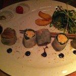 California rolls de thon et crabe