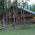 Skyline Guest Ranch beautiful log lodge