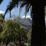 vue depuis le jardin de l'hôtel