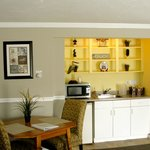 kitchenette in every room