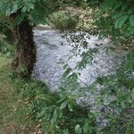 The River Aude - crystal clear and just loud enough!