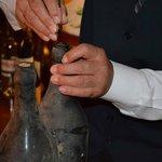 Hotel SantaMaria - Weindegustation beim Abendessen