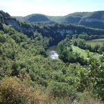 Gorges d'Aveyron, viewed from Bruniquel