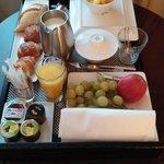 Petit déjeuner 23 euros