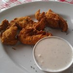 chicken fingers with ranch dresssing