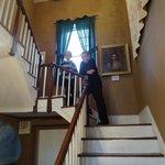 Inside the old Talbott home