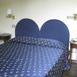 Double-room at Hotel Firenze e Continentale, in La Spezia