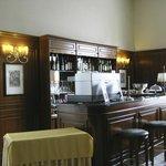 Bar in lobby of Hotel Firenze e Continentale, La Spezia