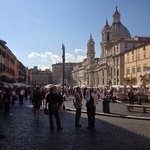 Hotel located just to the side of Piazza Navona