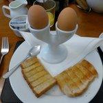Part of the wonderful breakfast