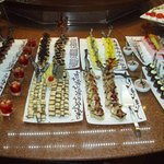 Selection of desserts.