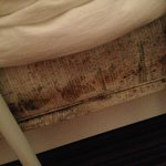 Black mildew on mattres