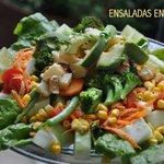 Diferentes y deliciosas ensaladas!!!!