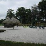 Man made beach