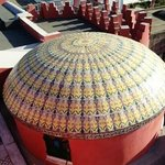 una cupoletta maiolicata