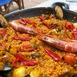 Paella, yumm