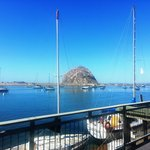 Morro Rock from outside the Kelp Suite