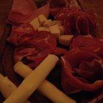 Antipasto Misto - Italian meats and cheese