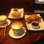 cappuccino+cornetto