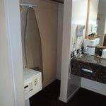 closet - ironing board