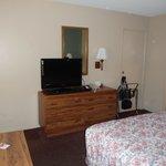 bedroom - television - dresser