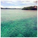BRIGHT WONDERFULL BLUE SEA!