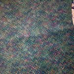 Ripple in carpet where floor sags.