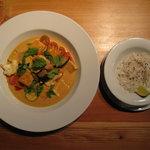 My favorite Thai curry tofu. I love it!