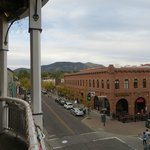 View from outdoor balcony off the Zane Grey bar.  Happy Hour