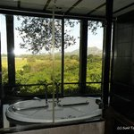 The washroom with a view!