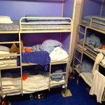En el dormitorio para 12 personas