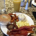breakfast buffet at Cyprus Grille in the hotel