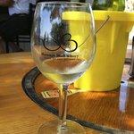 Just chillin' w/a bit of wine