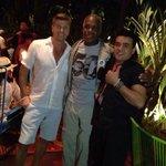 Hollywood actor Danny Glover enjoyes Koki Beach