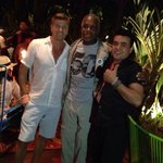 Hollywood actor Danny Glover enjoyes Koki Beach