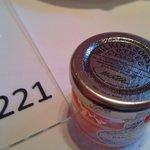 Rasberry Jam from the restaurant.
