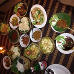 Absutely a must- traditional indonesian dishes for two :)